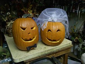 English: halloween pumpkin