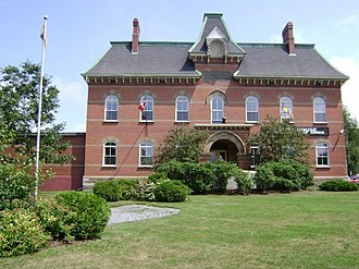 Hampton, New Brunswick - Image: Hampton Court House