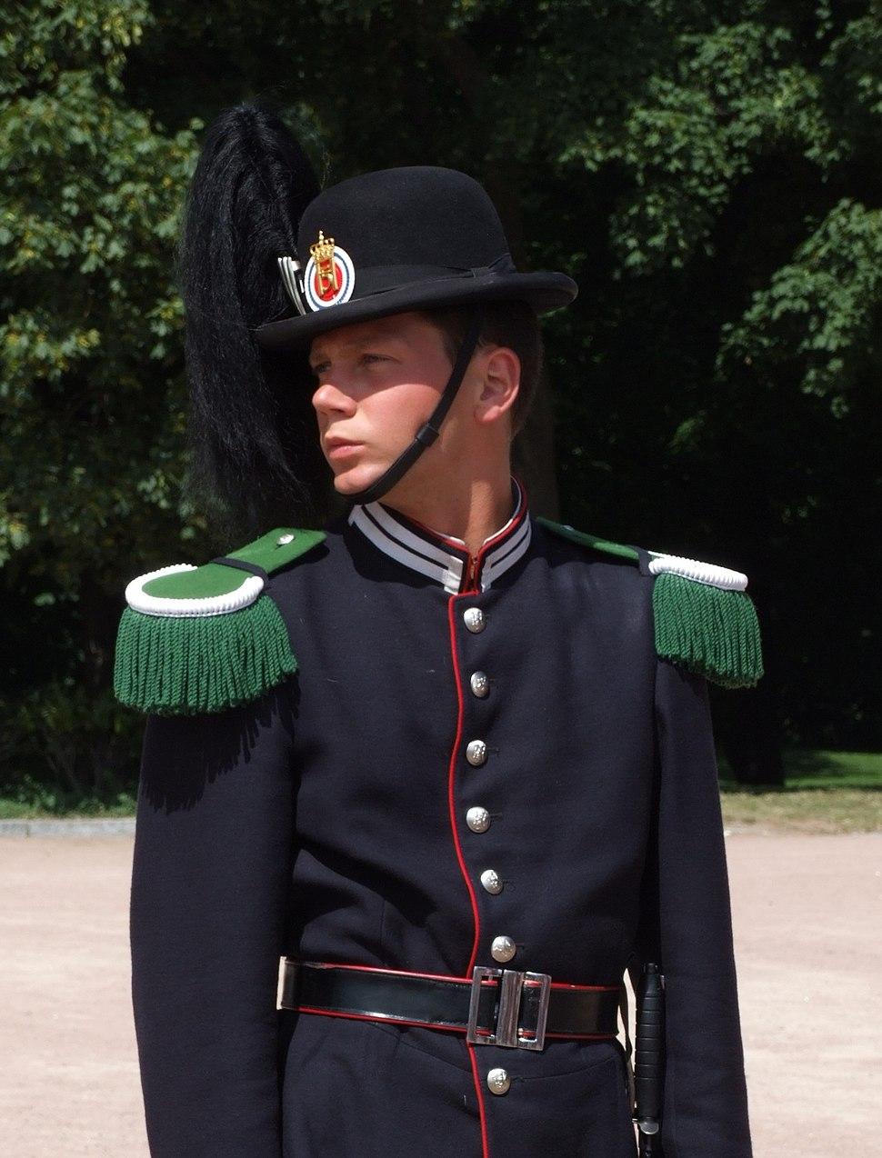 Hans Majestet Kongens Garde - soldier-edited