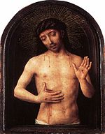 Hans Memling - Man of Sorrows - WGA14995.jpg