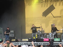 Hard-Fi at the 2006 Hurricane Festival in Germany