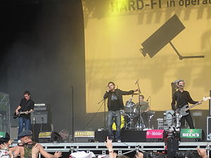 Hard-Fi - Hard-Fi at the 2006 Hurricane Festival in Germany