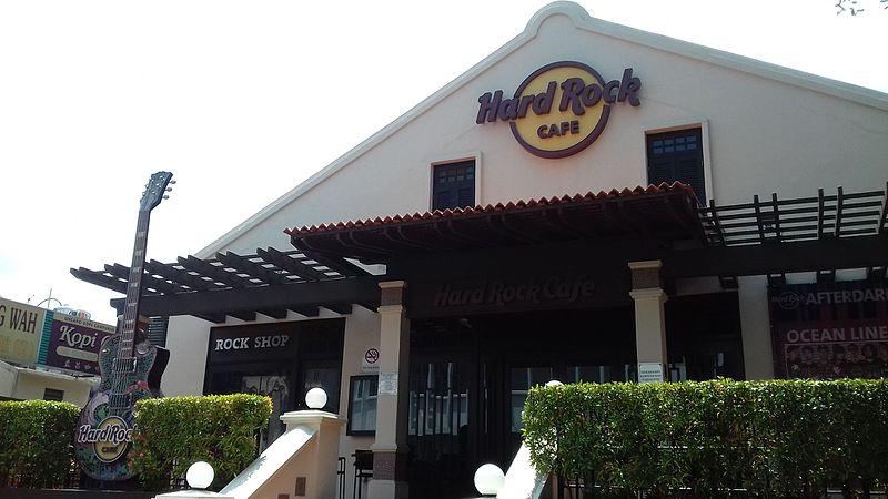 Hard Rock Cafe Malaysia Menu