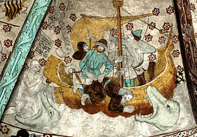 Картина альбертуса піктора з церкви