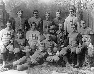 1890 Harvard Crimson football team - Image: Harvard Crimson football team (1890)