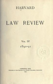 Harvard Law Review Volume 4.djvu