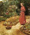 Hassam, Woman cutting roses.jpg