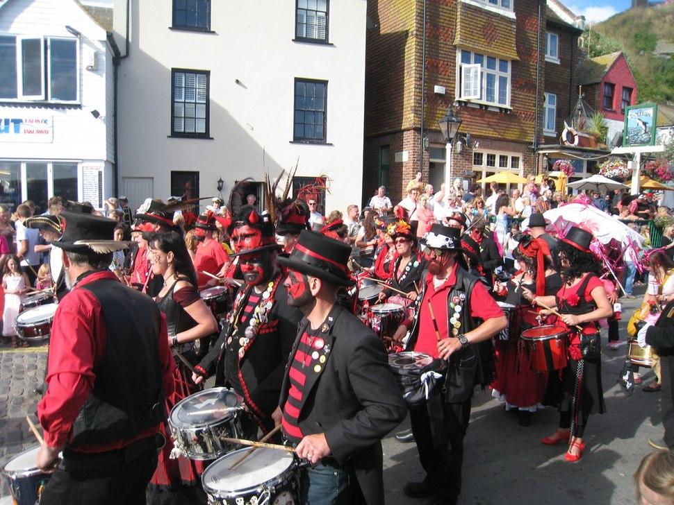 Hastings Borough Bonfire Society, Old Town Carnival 2010