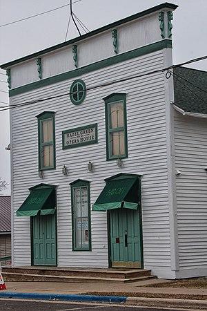 Hazel Green, Wisconsin - Hazel Green Opera House