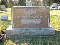 Headstone Of James G. Polk, Highland, Ohio.jpg
