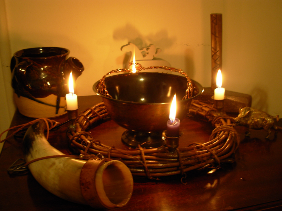 Heathen altar