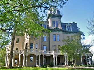 Hegeler Carus Mansion - Image: Hegeler Carus Mansion (8765254143)