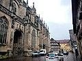 Heilig-Kreuz-Münster, Münster zum Heiligen Kreuz, von 1761 bis 1803 Stifts- und Kollegiatkirche zu Unserer Lieben Frau, ca. 1320 Gemeindekirche - panoramio.jpg