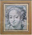 Hendrick goltzius o jacob matham, testa di ragazza, 1600-30 ca.jpg