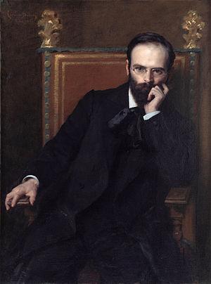 Henri Bouchard - Henri Bouchard;    portrait by Carolus-Duran.