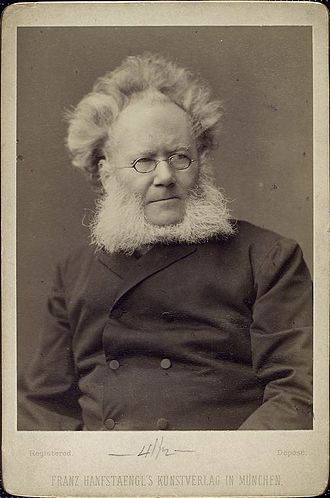 Henrik Ibsen - Ibsen, late in his career