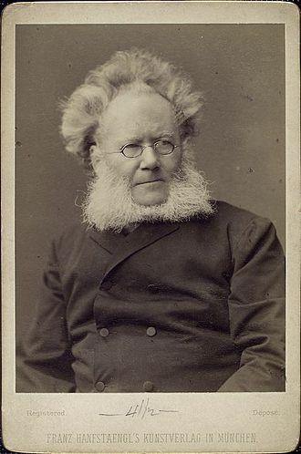 Henrik Ibsen - Ibsen, late in his career