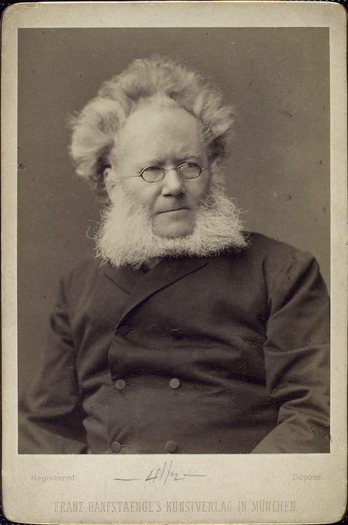 Henrik Ibsen portrait