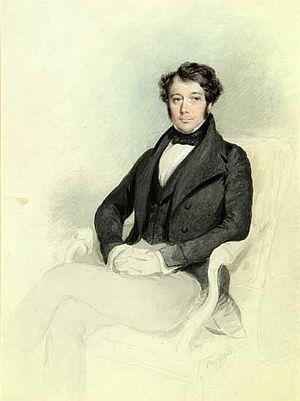 Henry Blunt (chemist) - Watercolour Portrait of Henry Blunt by James Canterbury Pardon