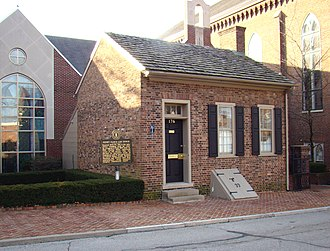 Henry Clay - View of Henry Clay's law office (1803–1810), Lexington, Kentucky