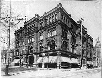 Henry Morgan Building - Henry Morgan Building c. 1890