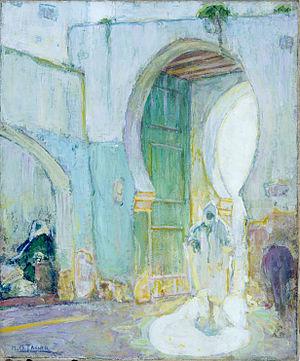 Henry Ossawa Tanner - Henry Ossawa Tanner, Gateway, Tangier, 1912. St. Louis Art Museum.