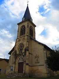 Herbeuville L'église Saint-Vanne.JPG