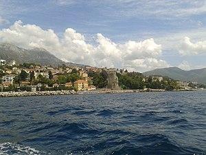 Herceg Novi from sea 1