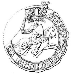 Herman VII, Margrave of Baden-Baden - Seal of Herman VII