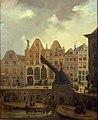 Het Sint Barbara- en Sint Laurentiusgasthuis op de Oudegracht te Utrecht Centraal Museum 2511.jpg