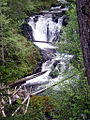 Hidden off-trail waterfall in Bull of The Woods wilderness, Oregon.jpg
