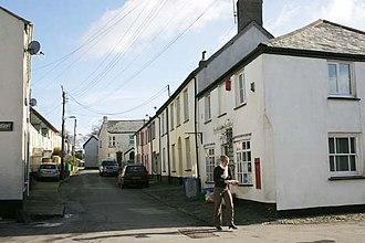 High Bickington - Image: High Bickington High Street and Post Office geograph.org.uk 338211
