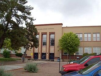 Highland High School (Albuquerque, New Mexico) - Image: Highland High School Albuquerque NM