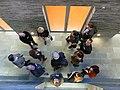 Hilversum-Nieuwjaarsborrel WMNL 2015 bij Beeld en Geluid (43).JPG
