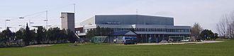 EuroBasket 2003 - Image: Himmelstalundshallen i Norrköping, den 24 april 2007