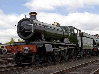 GWR 4900 Class 5900 Hinderton Hall - 5900 at Didcot.