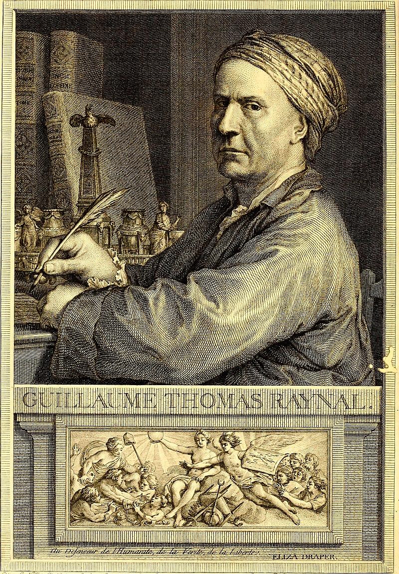Description de l'image Histoire philosophique et politique des établissemens et du commerce des Européens dans les deux Indes (1780) (14777190352).jpg.