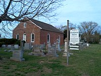 Historic presbyterian church in what is now rehobeth maryland.jpg
