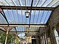 Historic roof lamps at Grange Over Sands railway station.jpg