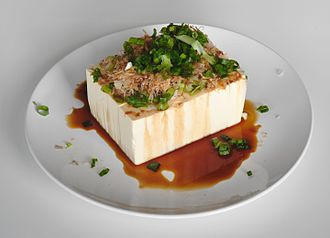 Hiyayakko - A standard combination is chopped green onion with katsuobushi (dried skipjack tuna flakes) and soy sauce.