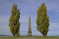 Hobart Cenotaph, Tasmania, Australia - with wreaths for ANZAC Day.jpg
