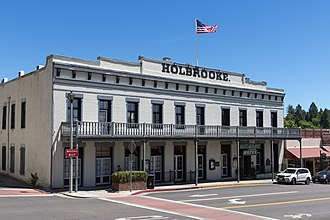 Grass Valley, California - The historic Holbrooke Hotel and Restaurant