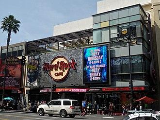 Hard Rock Cafe - Hard Rock Cafe in Hollywood