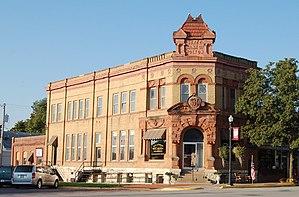 Jackson County, Kansas - Image: Holton (Kansas) State Bank
