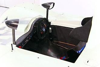 BMW V12 LMR - The cockpit of a V12 LMR