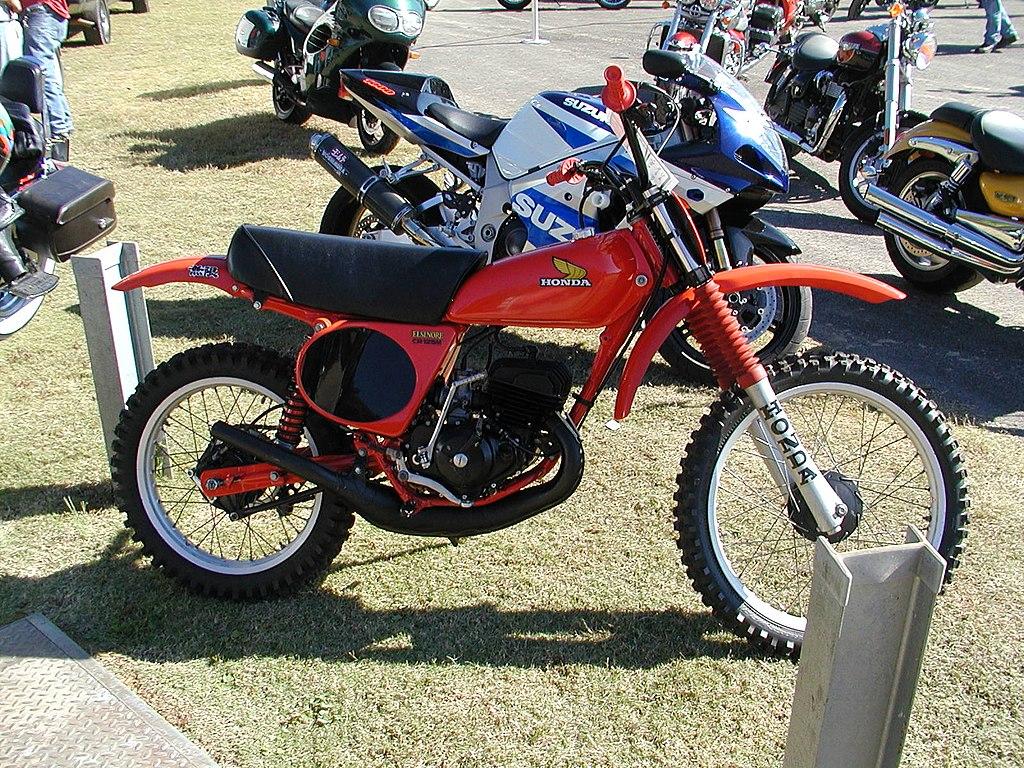 Yamaha Rm Or Bmw Srr On Ride