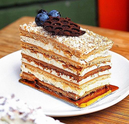 Honey cake Medovik