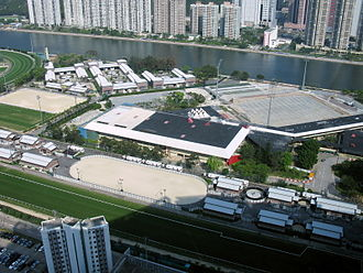 Hong Kong Sports Institute - Aerial view of the institute