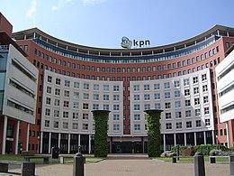 Hoofdkantoor van KPN in Den Haag