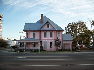 National Register of Historic Places listings in Columbia County, Florida - Image: Horace Duncan House Lake City 01